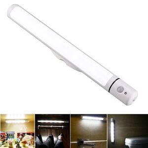 led kabellos pir bewegungssensor k chenunterbau leuchte schrank lampe ebay. Black Bedroom Furniture Sets. Home Design Ideas