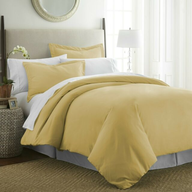 Egyptian Comfort 3 Piece Premium Duvet Cover Set All-Season Hypoallergenic