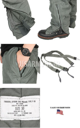 F1-B Extreme Cold Weather Military Super Warm GI Snow Pants Trousers 30 34