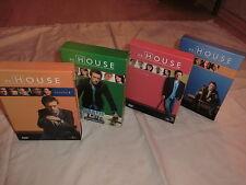 Dr. House Season 1-4 / 13 DVDs / 3611 Minuten / komplett in Pappschuber