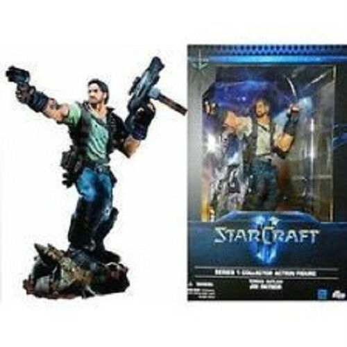 Starcraft Premium Series 1 Collectible Figure: Jim Raynor by DC Unlimited