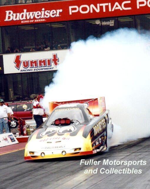 AL HOFMANN MOONEYES PONTIAC FIREBIRD 2000 NHRA FUNNY CAR 8X10 PHOTO COLUMBUS OH