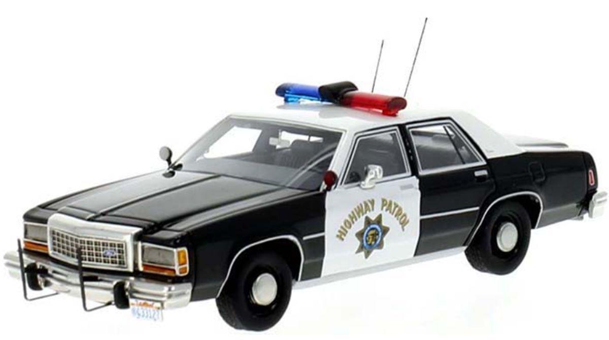 Best Of Show 1 43 CHP California Highway Patrol 1987 Ford LTD Police Car 43312