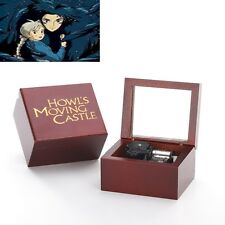 Howl's Moving Castle Handcraft Mirror Music Box: Merry Go Round of Life