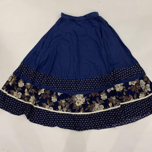 Jessicas Gunnies Sax Womens Floral Blue Vintage Sk