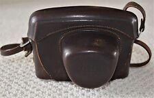 Leica Ernst Leitz Wetzlar Leather Camera Case M2 M3 Rangefinder w/ Strap