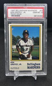 1987-BELLINGHAM-MARINERS-15-KEN-GRIFFEY-JR-ROOKIE-RC-PSA-10-GEM-MINT