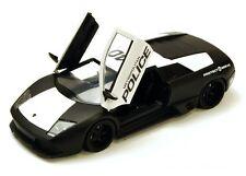 TC25 Lamborghini Murcielago LP 640 1:24 1/24 Police Diecast Model Toy Car