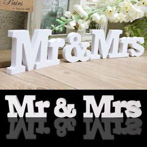 Mr-amp-Mrs-Buchstaben-Schriftzug-Hochzeit-stehend-Dekoration-Tischdeko-Wedding
