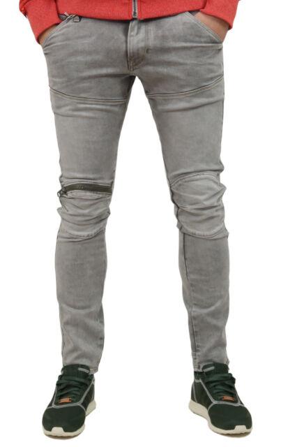 9fc565e9dda G-Star 5620 Elwood 3d Zip Knee Super Slim L32 Jeans 30-32-light Aged ...