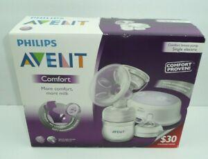 Philips Avent Comfort Single Electric Breast Pump New In Box Ebay