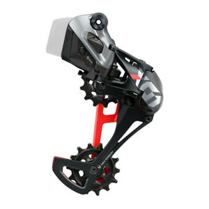 SRAM X01 Eagle AXS Rear Derailleur - 12-Speed, Long Cage, 52t Max, Red