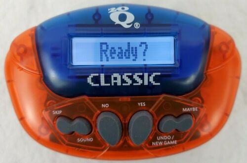 Electronic 20Q Classic 30th Anniversary Edition by IRWIN HAND-HELD LOT OF 2