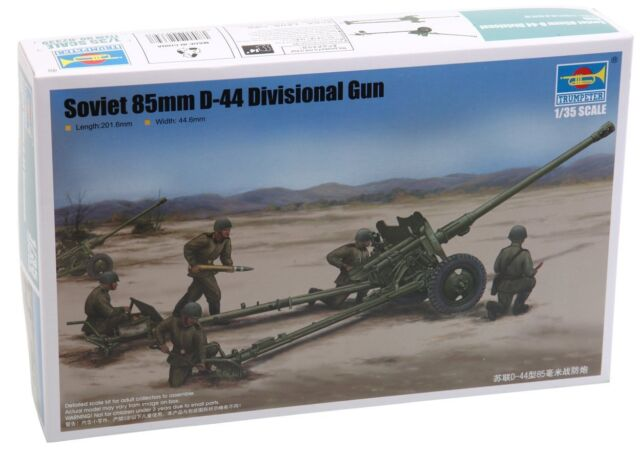 Trumpeter 542339. Maqueta Soviet 85MM D-44 Division. Escala 1/35