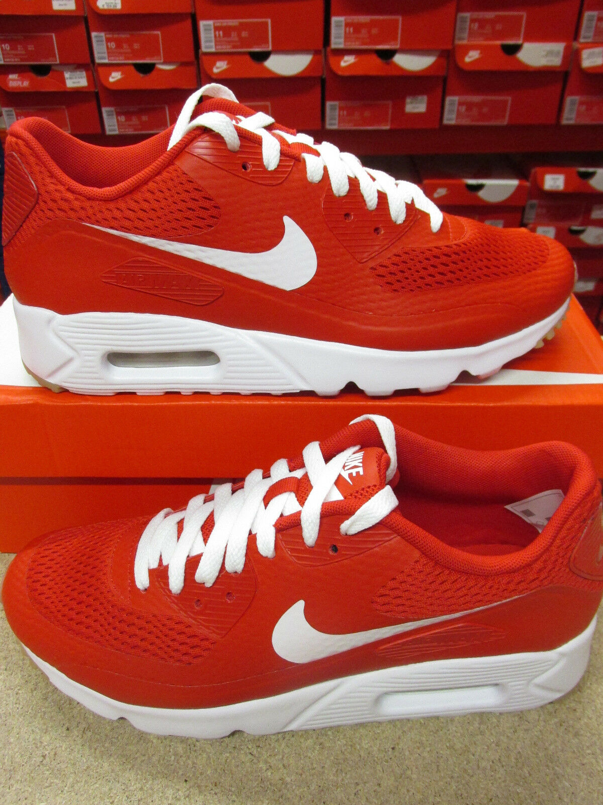 nike air max 90 ultra essential mens trainers 819474 601 sneakers shoes