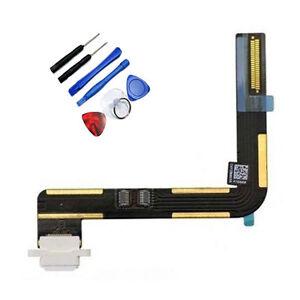 Connecteur de charge Charging Port Flex Cable Blanc A1475 iPad Air + Outils azEUwJgl-08132257-917525368