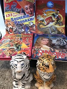 LOT-OF-6-Ringling-Brothers-and-Barnum-amp-Bailey-Circus-Souvenirs-programs-amp-cups