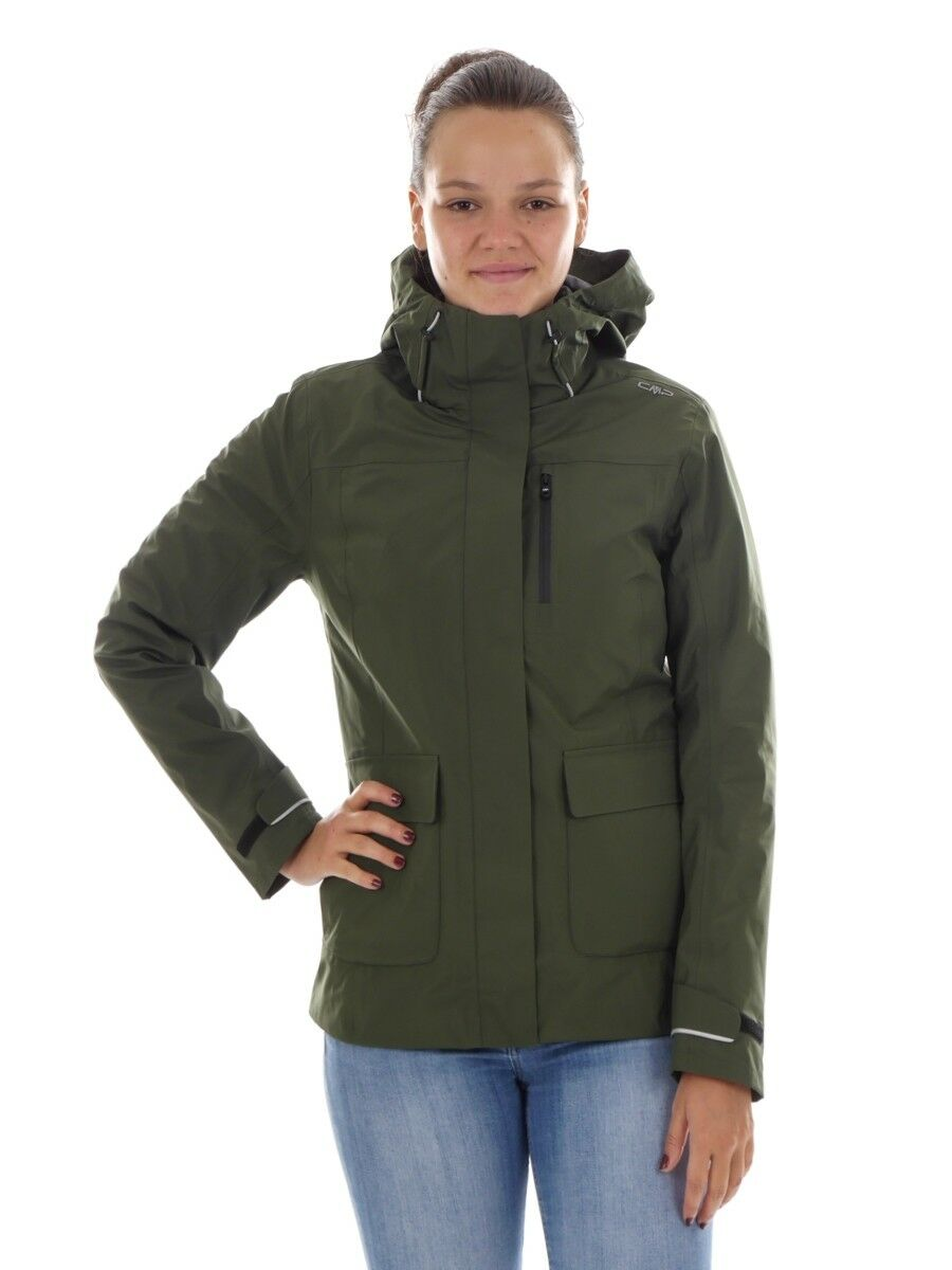 CMP vellón función chaqueta chaqueta verde climaprojoect ® caliente