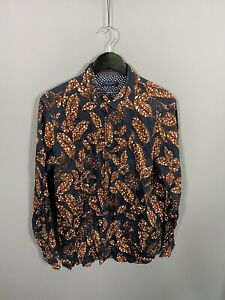 TED-BAKER-Shirt-Size-6-XXL-2XL-Floral-Great-Condition-Men-s