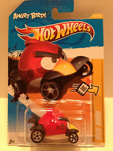 d5672af81 Hot Wheels 2012 New Models Angry Birds Red Bird Vehicle Diecast ...