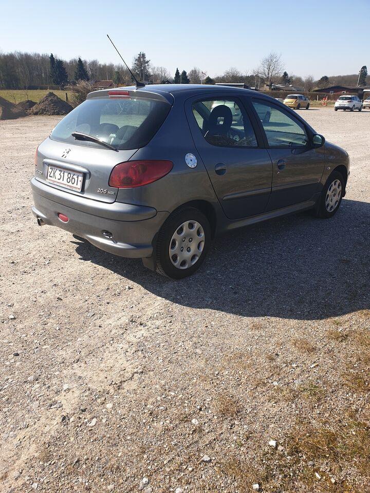 Peugeot 206, 1,4 HDi S-line, Diesel