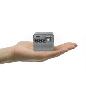 AAXA-Technologies-P2-B-130-Lumen-LEDs-150-Min-Battery-Portable-Mini-Proj-NEW