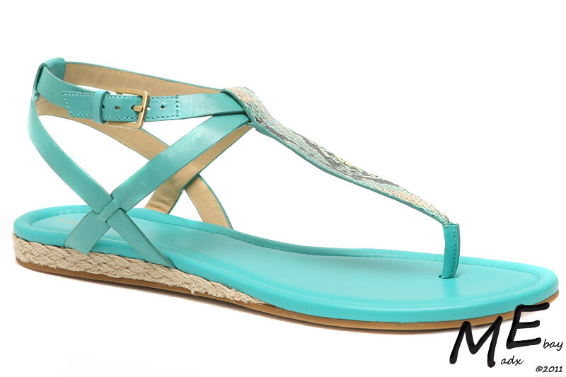 New Cole Haan Grove femmes Leather Sandals Taille 9.5 (MSRP  130) Poolside