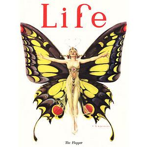 MAGAZINE-1922-LIFE-BUTTERFLY-DANCER-FINE-ART-PRINT-POSTER-30x40cm-CC372