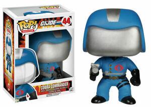 RARE Cobra Commander 44 G.I. Joe Funko Pop Vinyl New in Mint Box + Protector