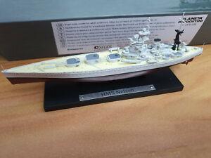HMS-Nelson-Corazzata-Inglese-Scala-1-1250-Die-Cast-DeAgostini