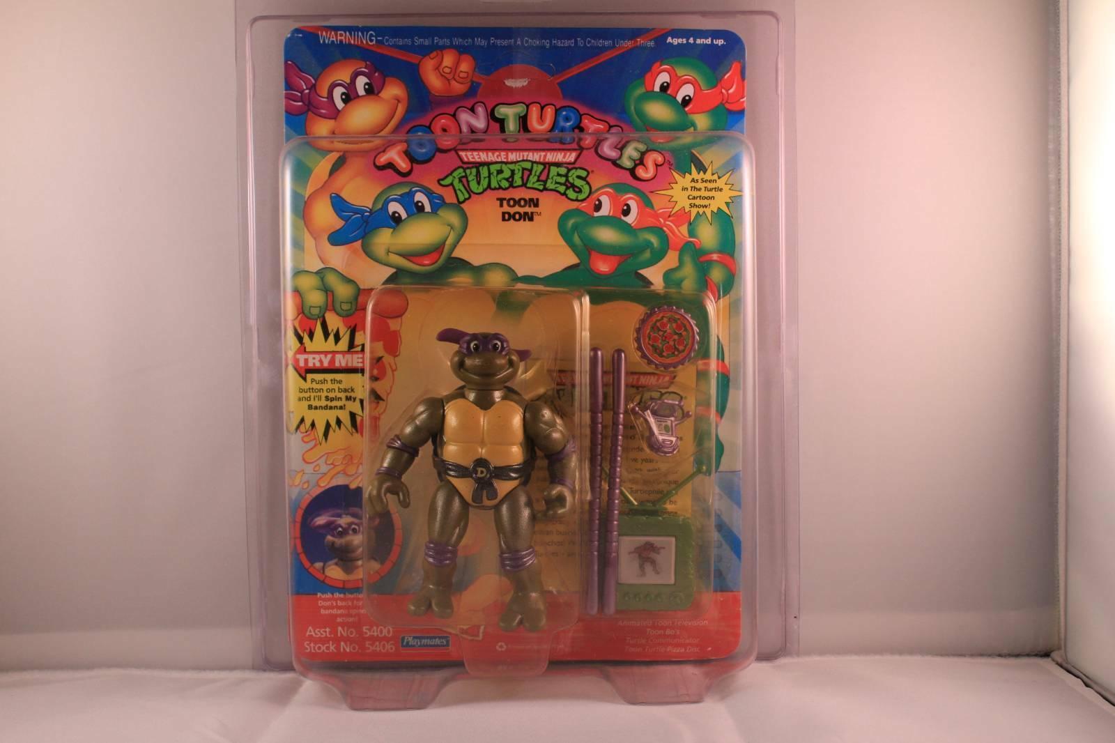 TMNT 1992 Toon Turtles Don Vintage MOC (WATCH THIS SPACE)