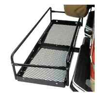 Hitch Haul Masterbuilt Steel Cargo Carrier - Side Rail Bars Extension Kit Only
