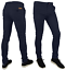 Mens-Skinny-Fit-Stretch-Chino-Trousers-Casual-Flat-Front-Super-Skinny-Pants thumbnail 5