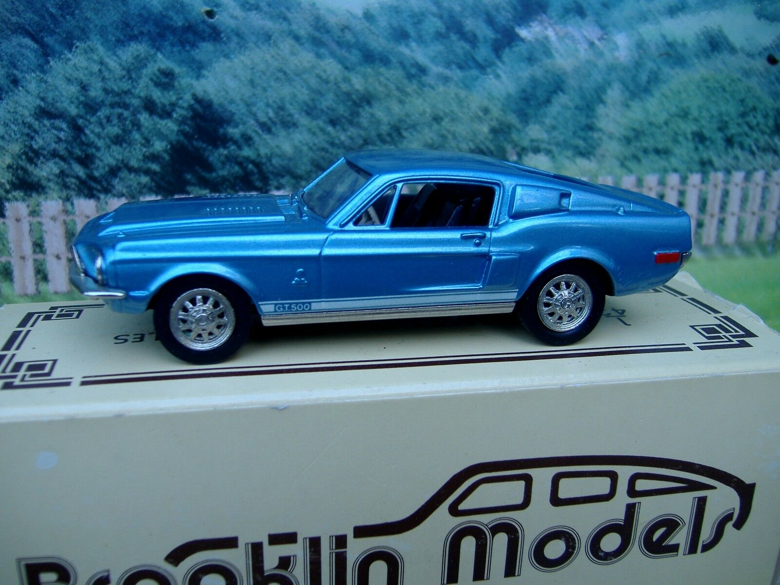 1  43 Brooklinmodelllllerler Ford mustang 1968
