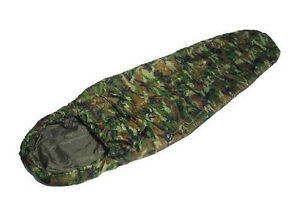 Image Is Loading Us Army Style Commando Sleeping Bag Woodland Camo