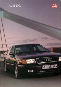 Audi-100-Saloon-1993-94-UK-Market-Sales-Brochure-2-0E-2-6E-2-8E-2-5-TDi