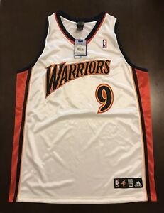 separation shoes 51772 fb37f Details about Rare Vintage Adidas NBA Golden State Warriors Ike Diogu  Basketball Jersey