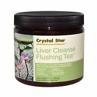 Crystal Star - Liver Cleanse Flushing Tea - 3 Oz. Free Shipping
