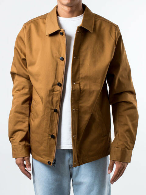 816e6b124214 Nike Men s SB Flex Coaches Banner Jacket Ale Brown Sz-s 863043-234 ...