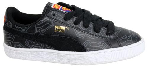 358861 Superman Baskets U31 Puma Lacets Basket Junior 02 À Noir RfxUqw