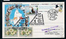 66561) LH SF (Wien-) Frankfurt - Hong Kong 1.2.2001, GAU Finnland Julen