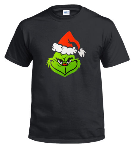 Christmas T-Shirts Funny t shirt Xmas Dead pool Grinch Humbug Gift Skull t-shirt