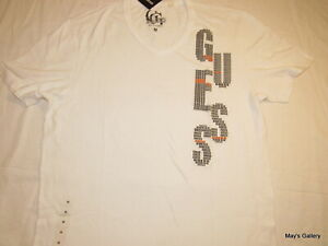 GUESS-Jeans-Graphic-Logo-Cotton-Tank-T-shirt-Tee-T-shirt-Top-Blouse-NWT-M