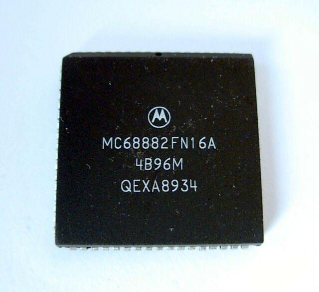 Motorola MC 68882 FN16 FPU co-processor ATARI MEGA STE, FALCON, AMIGA, APPLE