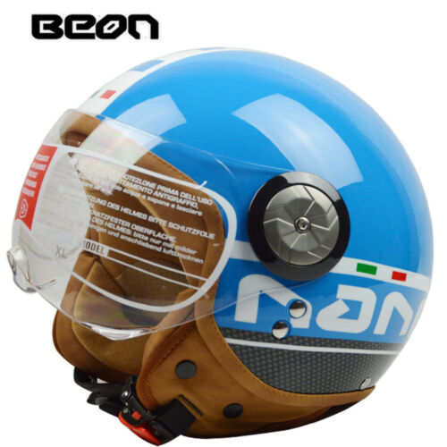 BEON B110 Open Face Bikder Helmet Motorbike Motorcycle Jet Riding Half Helmets