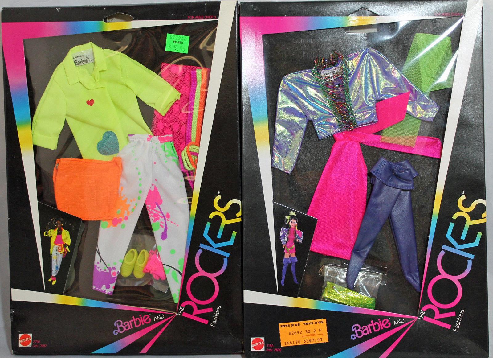Barbie Y Los Rockers Fashions Traje - 1165,2791