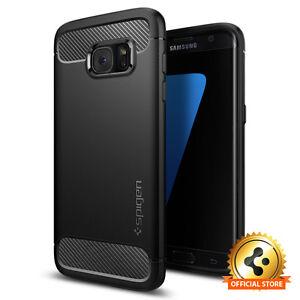 Samsung-Galaxy-S7-Edge-Case-Spigen-Rugged-Armor-Shockproof-Slim-TPU-Cover
