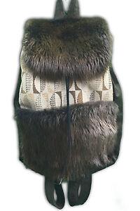 de de marca piel viajero de Mochila Ausable® castor del OBcFfddq