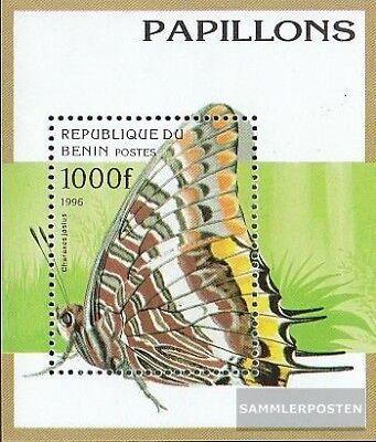 kompl.ausg. Benin Block16 Postfrisch 1996 Schmetterlinge Delaying Senility