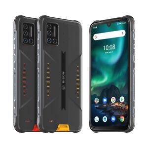 UMIDIGI BISON Rugged Smartphone Waterproof Shockproof 6GB +128GB Unlocked 2SIM